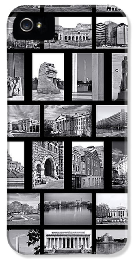 Washington IPhone 5 Case featuring the photograph Washington Dc Poster by Olivier Le Queinec