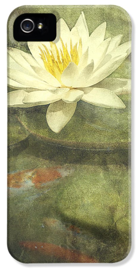 Water Lily IPhone 5 Case featuring the photograph Water Lily by Scott Norris