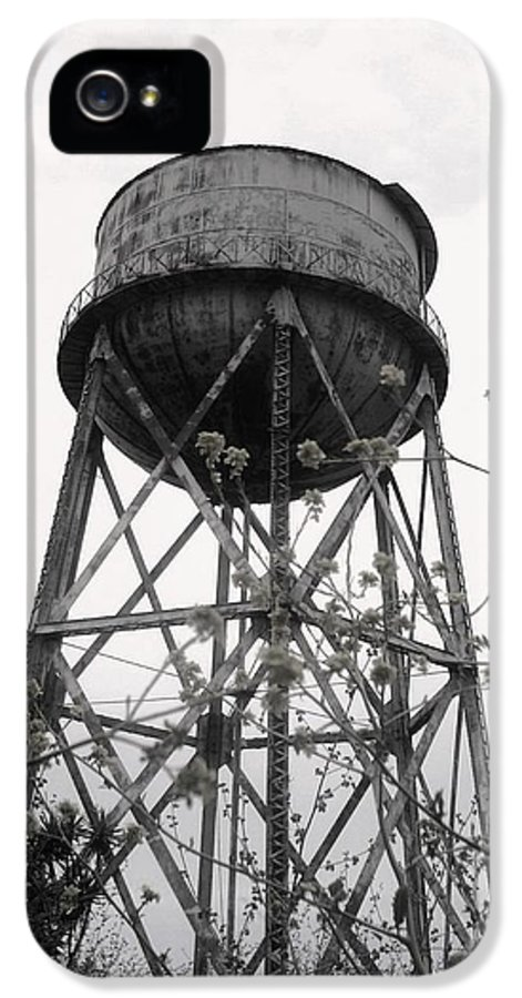 Watertower IPhone 5 Case featuring the photograph Water Tower by Michael Grubb
