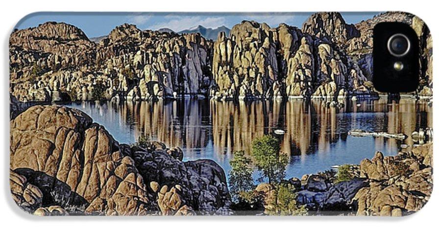 Watson IPhone 5 Case featuring the photograph Watson Lake by David Kehrli