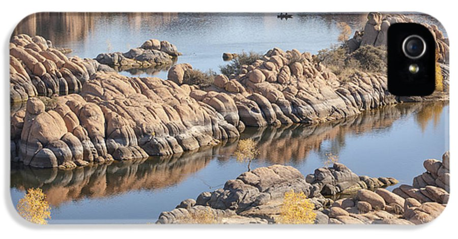 Watson IPhone 5 Case featuring the photograph Watson Lake by Ray Short