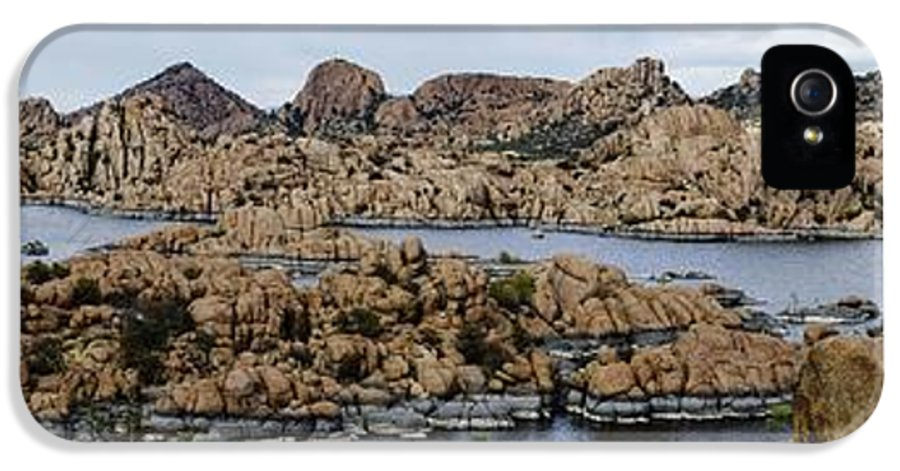 Granite Dells IPhone 5 Case featuring the photograph Watson Lake by Richard Henne