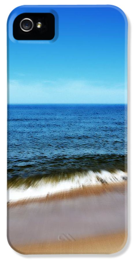 Lake Michigan IPhone 5 Case featuring the photograph Waves In Motion by Michelle Calkins