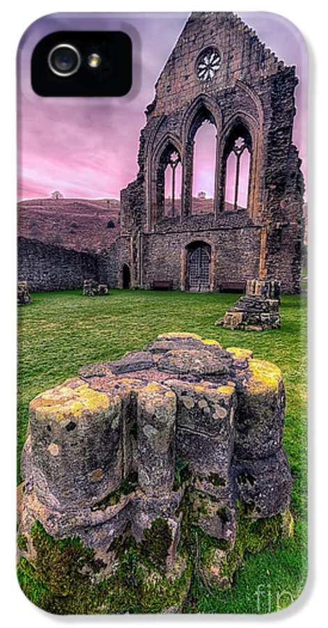 13th Century IPhone 5 Case featuring the photograph Welsh Abbey by Adrian Evans