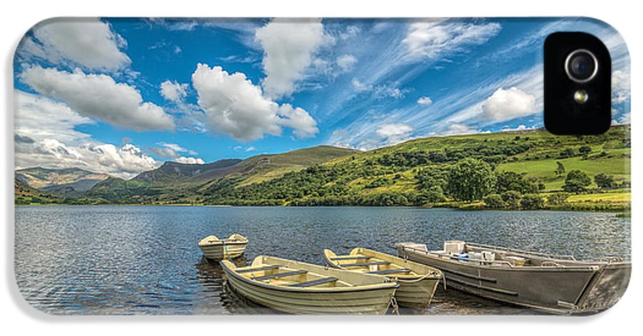 Boat IPhone 5 Case featuring the photograph Welsh Boats by Adrian Evans