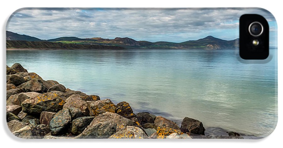 Hdr IPhone 5 Case featuring the photograph Welsh Coast by Adrian Evans