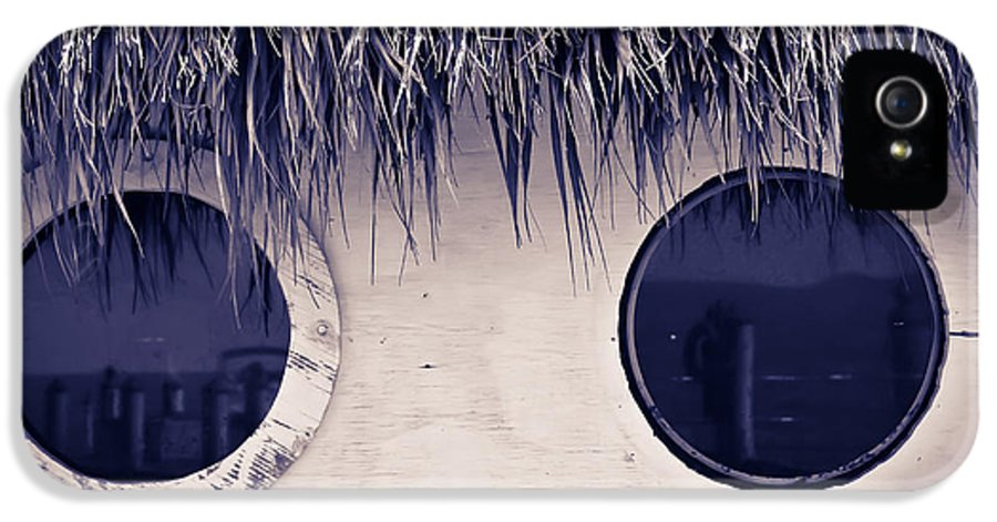 Hut IPhone 5 Case featuring the photograph What Do You See by Sophie Vigneault