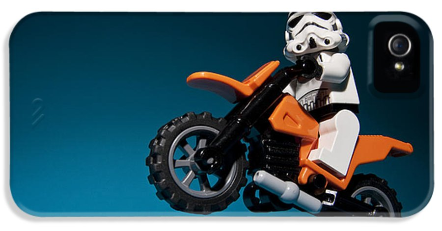 Lego IPhone 5 Case featuring the photograph Wheelie by Samuel Whitton
