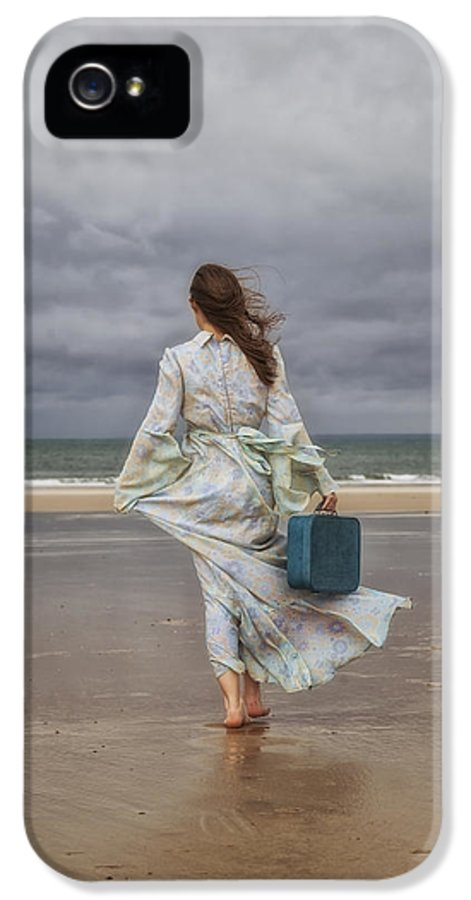Woman IPhone 5 Case featuring the photograph When The Wind Blows Away My Dreams by Joana Kruse