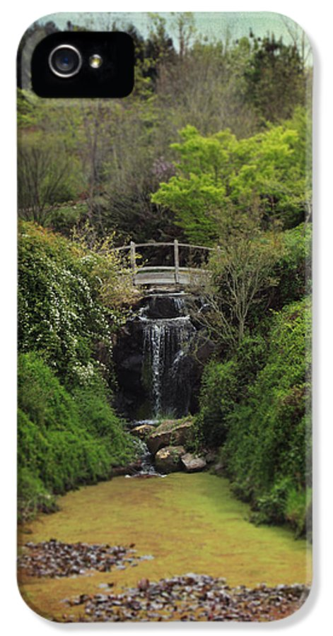 Quarryhill Botanical Garden IPhone 5 / 5s Case featuring the photograph When Too Many Tears Have Fallen by Laurie Search