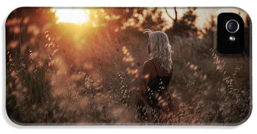 Sunset IPhone 5 Case featuring the photograph Where We Start by Taylan Apukovska