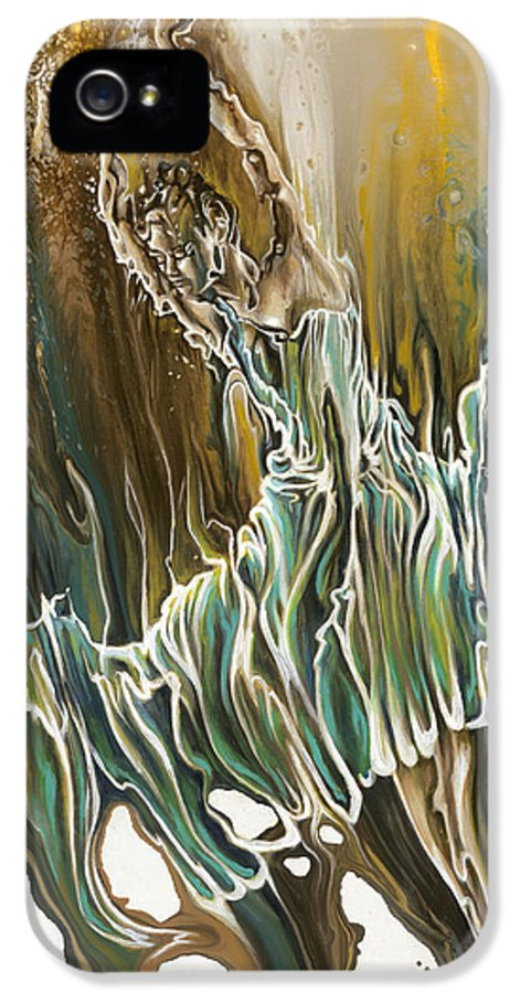 Whisper IPhone 5 Case featuring the painting Whisper by Karina Llergo