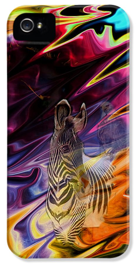 Abstract IPhone 5 Case featuring the photograph Wild Places by Aidan Moran