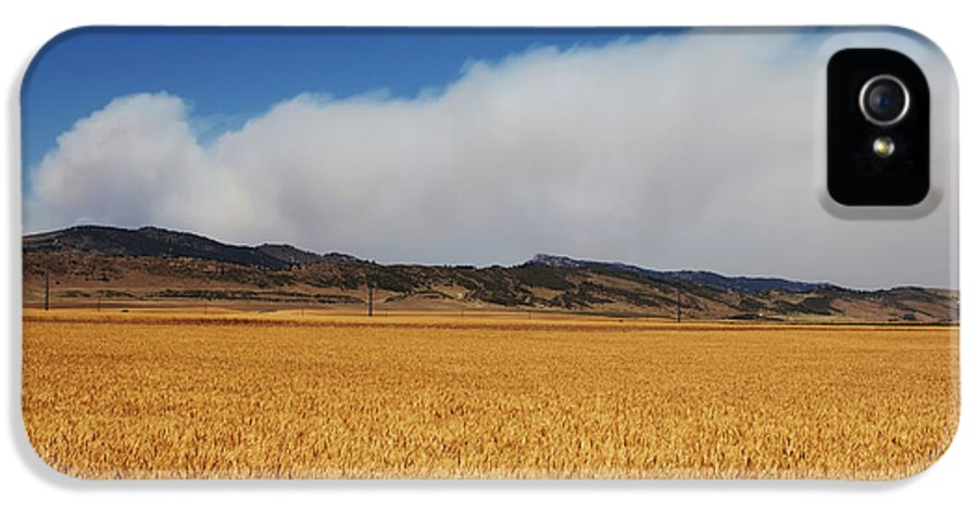 Wildfire IPhone 5 Case featuring the photograph Wildfire by Jon Burch Photography