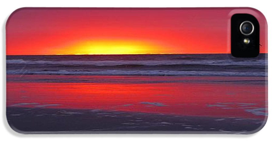 Wildwood IPhone 5 Case featuring the photograph Wildwood Sunrise Dreaming by David Dehner