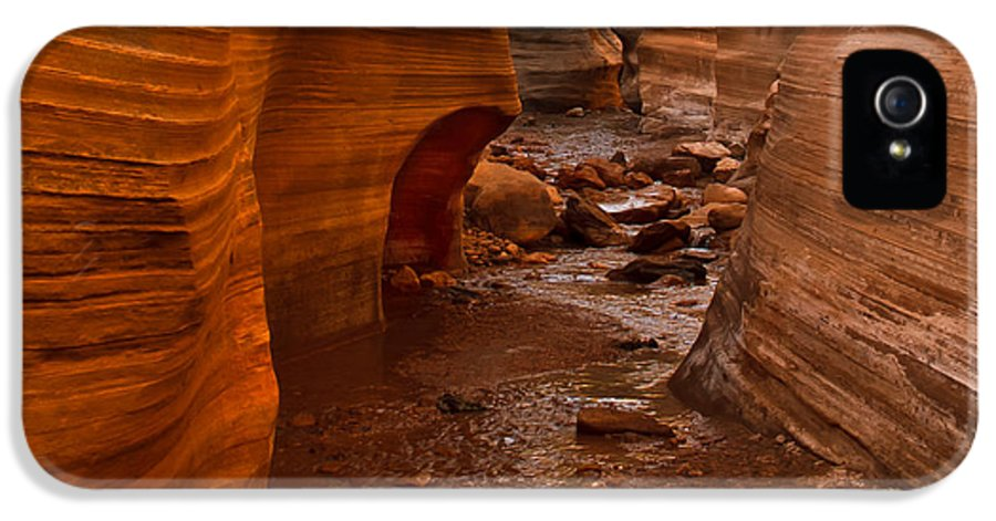 Slot Canyon IPhone 5 Case featuring the photograph Willis Creek Slot Canyon by Robert Bales
