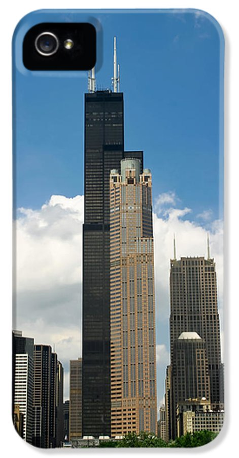 3scape Photos IPhone 5 Case featuring the photograph Willis Tower Aka Sears Tower by Adam Romanowicz