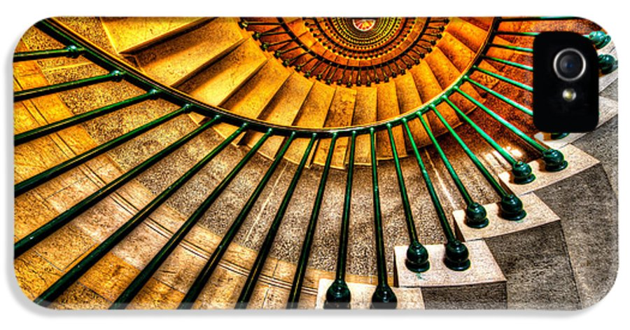 Architecture IPhone 5 Case featuring the photograph Winding Up by Chad Dutson