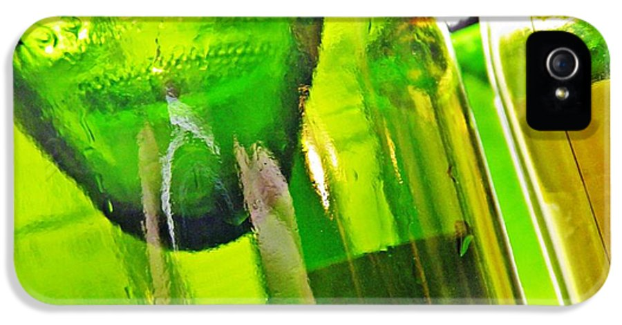 Wine Bottles 5 IPhone 5 Case featuring the photograph Wine Bottles 5 by Sarah Loft