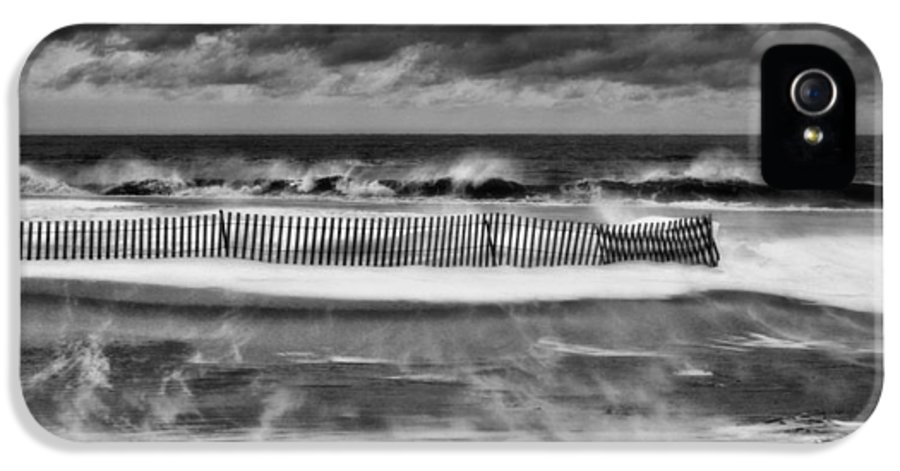 Winter Storm Nemo IPhone 5 Case featuring the photograph Winter On Long Island by JC Findley