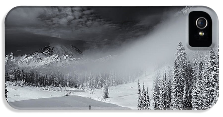 Winter IPhone 5 Case featuring the photograph Winter Storm Clears by Mike Dawson