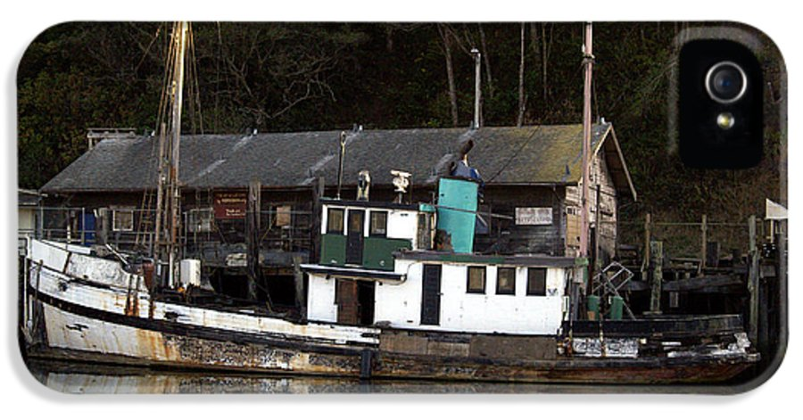 Boat IPhone 5 Case featuring the photograph Working Boat by Bill Gallagher