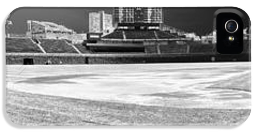 Wrigley Field IPhone 5 Case featuring the photograph Wrigley Panorama by David Bearden