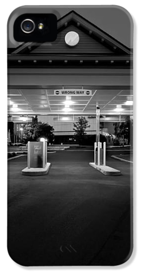 Wrong Way IPhone 5 Case featuring the photograph Wrong Way by Bob Orsillo