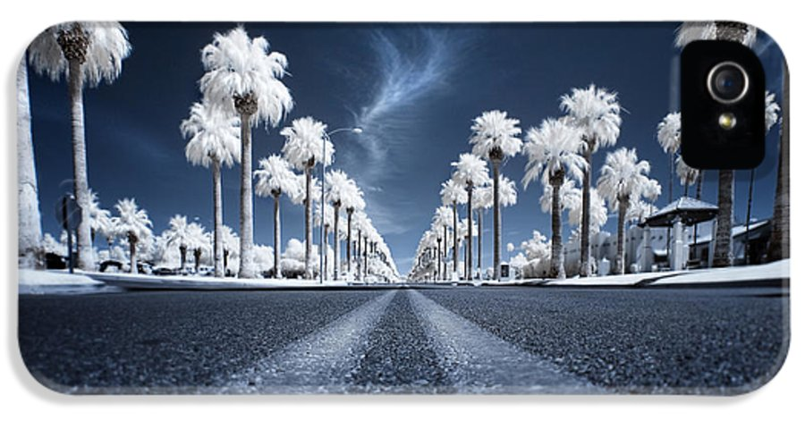 Infrared IPhone 5 Case featuring the photograph X by Sean Foster