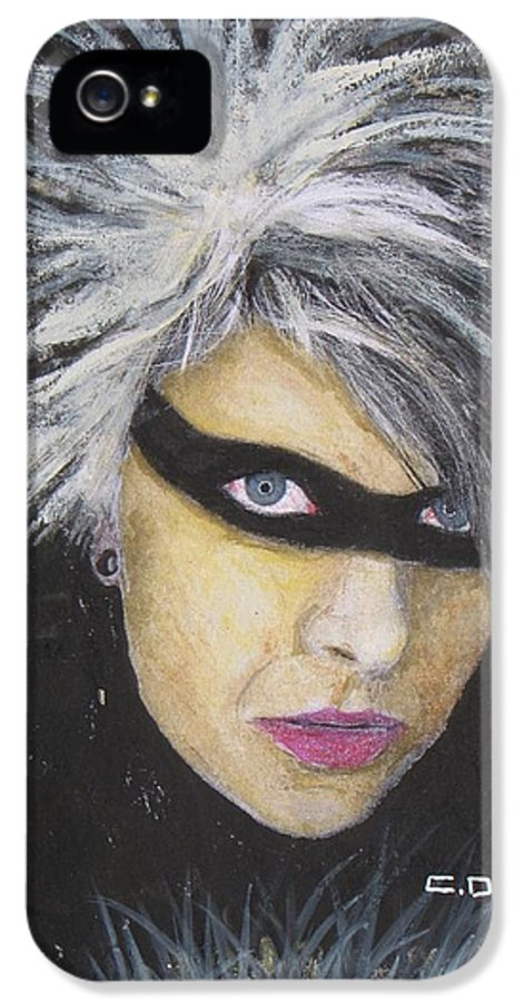 Youko IPhone 5 Case featuring the painting Youko Sunshine by Charles Daley