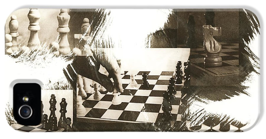 Chess IPhone 5 Case featuring the photograph Your Move by Caitlyn Grasso