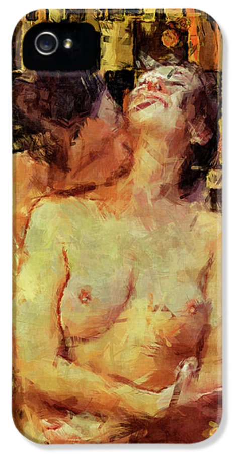 Nude IPhone 5 Case featuring the photograph You're Mine by Kurt Van Wagner