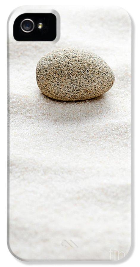 Spirituality IPhone 5 Case featuring the sculpture Zen Concept by Shawn Hempel