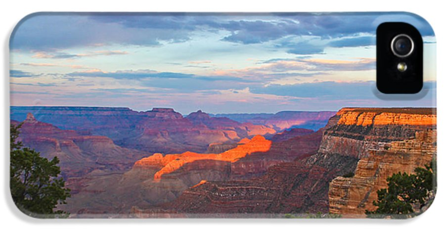 Grand Canyon IPhone 5 Case featuring the photograph Grand Canyon Grand Sky by Heidi Smith