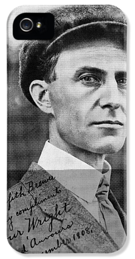 Wilbur Wright IPhone 5 Case featuring the photograph Wilbur Wright, Us Aviation Pioneer by Science, Industry & Business Librarynew York Public Library