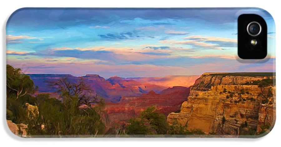 Grand Canyon IPhone 5 Case featuring the photograph You Draw Me In by Heidi Smith
