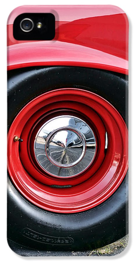1964 IPhone 5 Case featuring the photograph 1964 Plymouth Savoy by Gordon Dean II