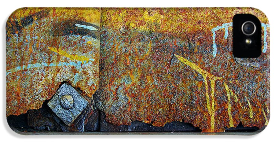 Abandoned IPhone 5 Case featuring the photograph Rust Colors by Carlos Caetano
