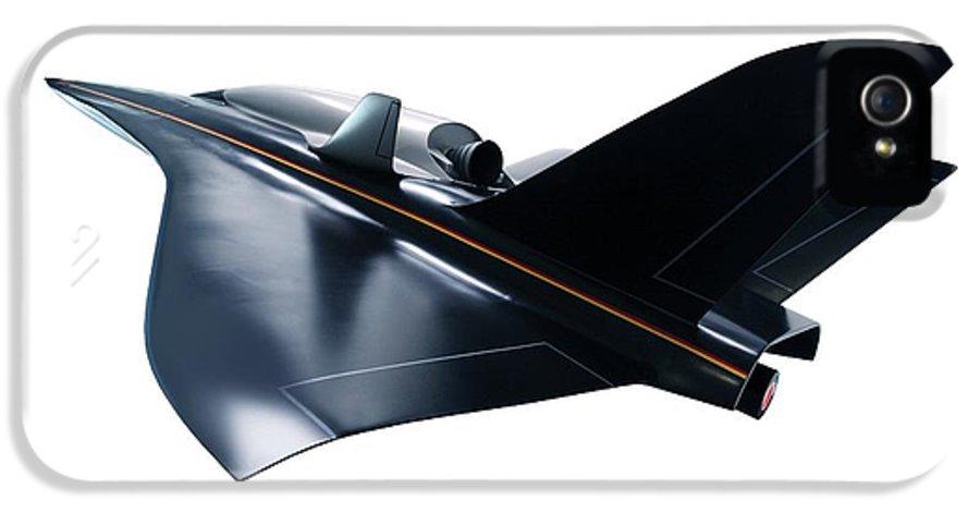 Aerodynamics IPhone 5 Case featuring the photograph Saenger Horus Spaceplane, Artwork by Detlev Van Ravenswaay