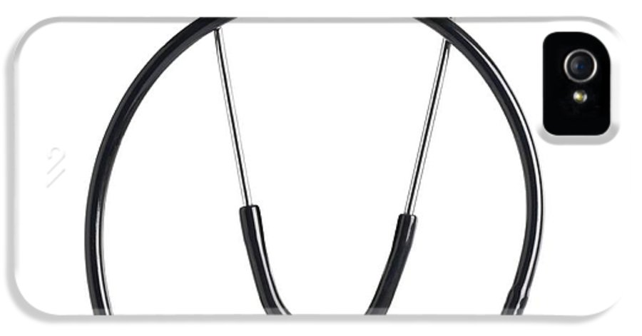 Cut Out IPhone 5 Case featuring the photograph Stethoscope by