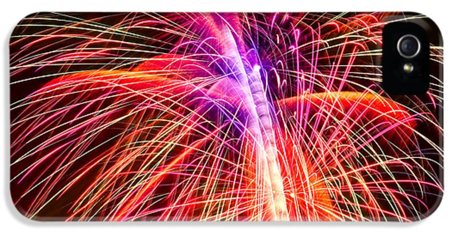 United IPhone 5 Case featuring the photograph 4th Of July - Independence Day Fireworks by Gordon Dean II