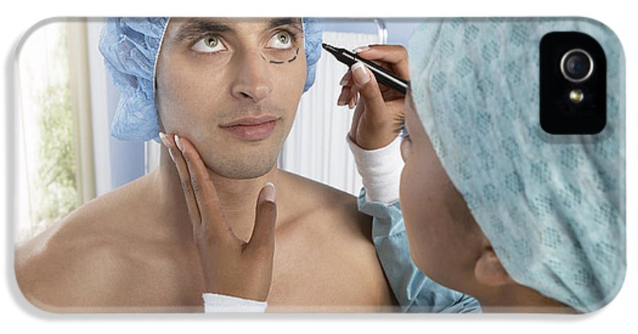 Mark IPhone 5 Case featuring the photograph Cosmetic Surgery by Adam Gault
