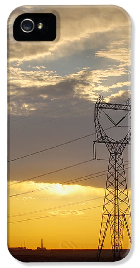 Energy IPhone 5 Case featuring the photograph Untitled by Alan Majchrowicz