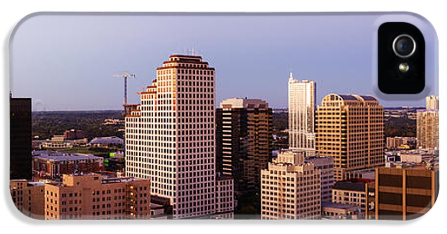 Architecture IPhone 5 Case featuring the photograph City Skyline by Jeremy Woodhouse