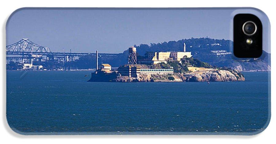 Alcatraz IPhone 5 Case featuring the photograph Alcatraz Island In San Francisco Bay by David Buffington