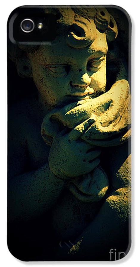 Angela IPhone 5 Case featuring the photograph Angela by Susanne Van Hulst