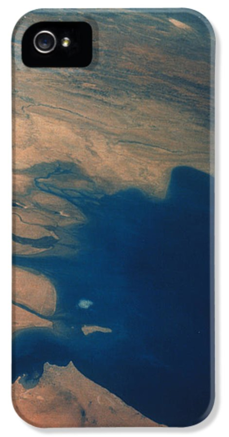 Apollo Imagery IPhone 5 Case featuring the photograph Apollo 7 Photograph Of Kuwait, Iraq & Iran by Nasa