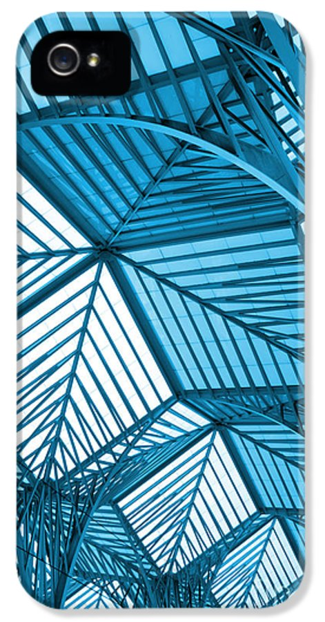 Abstract IPhone 5 Case featuring the photograph Architecture Design by Carlos Caetano