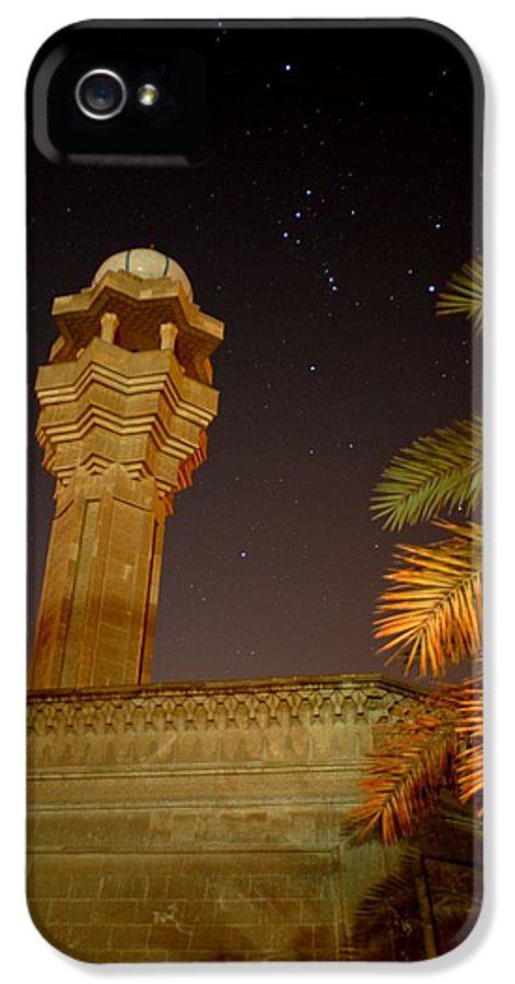 Baghdad IPhone 5 Case featuring the photograph Baghdad Night Sky by Rick Frost