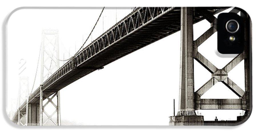 Bay Bridge IPhone 5 Case featuring the photograph Bay Bridge by Jarrod Erbe